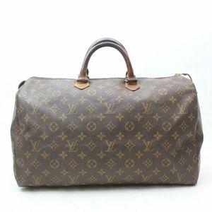 Auth Louis Vuitton Speedy 40 Boston Bag #2082L10